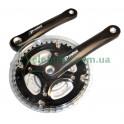 Шатуны Prowheel MY-AC41 48_38_28T прозрачная защита