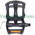 Педали Wellgo B123 платформенные пластик черные