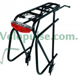 Багажник Buchel MAGLINE TOURING узкий алюминий под велобаул