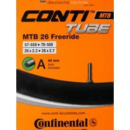 Камера Continental MTB 26x2,3_2,7 FREERIDE