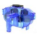 Мойка цепи SBT-791, синяя, с ручкой