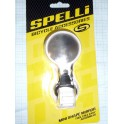 Зеркало Spelli SBM-4066 White, круглое, крепление на хомуте