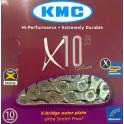 Цепь KMC X10.99 c замком для 10 скоростей