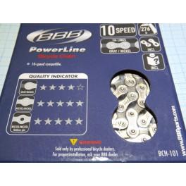 Цепь BBB BCH-101 PowerLine для 10 скоростей