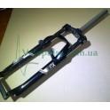 Вилка 26 Suntour SF913-XCM 100 мм Disk_V-brake черная