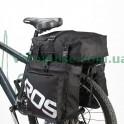 Сумка на багажник велобаул Roswheel Expedition 14892-A черный на 37 литров