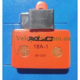 Дисковые тормозные колодки XLC BP-O07 органика стандарт DS-01 для Shimano, Tektro
