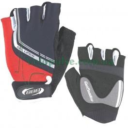 Перчатки BBB BBW-35 Gelliner красно черные